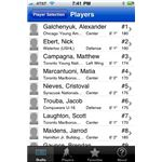 Hockey Draft iPhone App