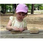 Preschool Girl at Camp