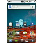 android froyo home screen with cyanogenmod
