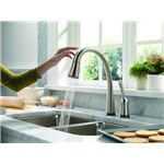 kitchen faucet delta pilar with touch 2-0 w609