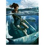 Sharks and mercenaries are minor enemies while playing Tomb Raider: Underworld