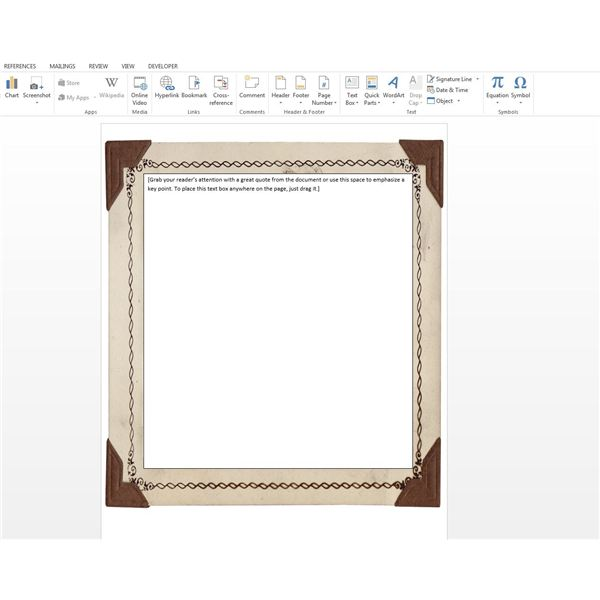 Figure3 Border  Free Page Borders For Microsoft Word
