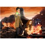 The new Doctor Who game features the Doctor and Amy, voiced by Matt Smith and Karen Gillan