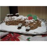 Yule Log Decorated