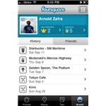 foursquare iphone app screen 1