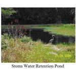 Storm Water Retention Pond