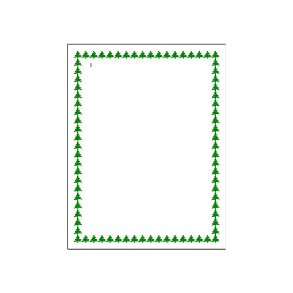 Christmas Invitations Border