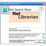 Help-->About Net Librarian 8.0