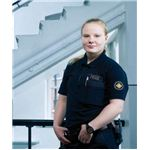 Finnish female prison guard - image released into the public domain