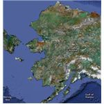 Satellite Image of Alaska