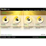 UI of Norton 360