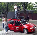 Google Earth Street View car