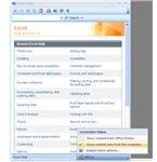 Fig 2 - Excel Offline Help