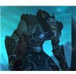 Worgen Death Knight by Vailwolf