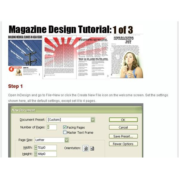 Magazine Article Template Free