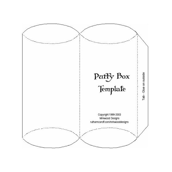 Halloween Gift Box Templates Where to Find Printable and – Template for Gift Box