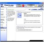 Identity Protection Window of ZoneAlarm