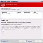 Fake Microsoft Antivirus: a Fake Microsoft Security Essentials Alert