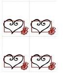 redblackplacecard