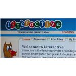 Literactive homepage