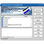 Tracks Eraser Pro interface