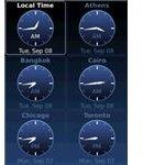 World Clock trial screenshot