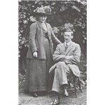 392px-B Potter and her husband W Heelis 1913
