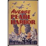 402px-Avenge Pearl Harbor. Our bullets will do it - NARA - 534787