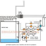 Water Level Controller Circuit Diagram, Schematic, image