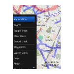 Cycle Maps BlackBerry App