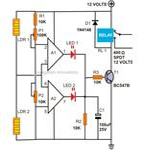 Motion Detector Alarm Circuit Diagram, Image