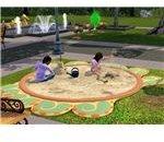 The Sims 3 sandbox at park