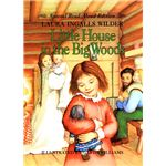 Little House in the Big Woods Cover Ilustration
