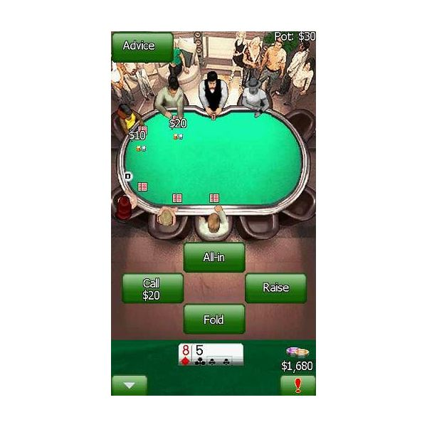 Free poker game online real money