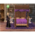 The Sims Medieval Monarch in Living Quarters