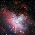 Three Color Composite Image of the Eagle Nebula