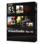 Corel VideoStudio Pro X3 Box Shot