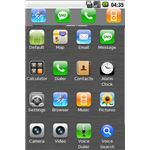iPhone 4.2 Theme for Android from IntelSoftApps