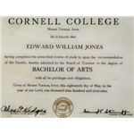 Cornell College Diploma edited web