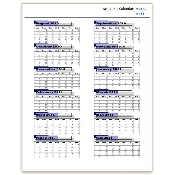 Download a free yearly calendar template word makes it easy lots 2010 2011 academic calendar template pronofoot35fo Choice Image