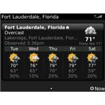 BeWeather BlackBerry Bold Apps