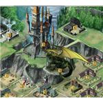 Dragons of Atlantis: Dragon and Fortress