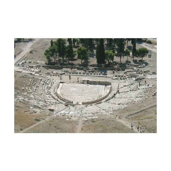 a history of ancient greek theater architecture (a) the promotion of study and research in ancient greek theatre, ancient  of  the following departments: theatre studies, philology, history and archaeology, .