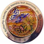 Butterfly Kisses geocoin