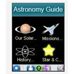 Screenshot Astronomy Guide Main Menu