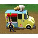 The Sims 3 ice cream truck
