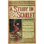 Cover of A study in Scarlet, the First Sherlock Holmes mystery