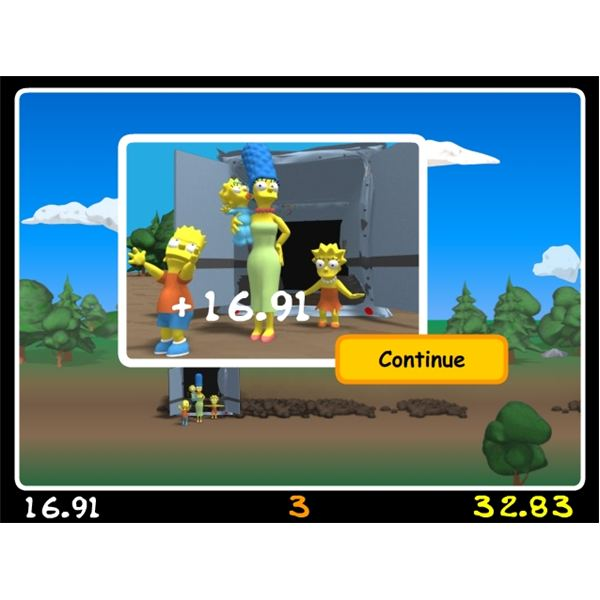 free online simpsons game