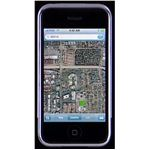 Screenshot of the Google Earth App for the iPhone