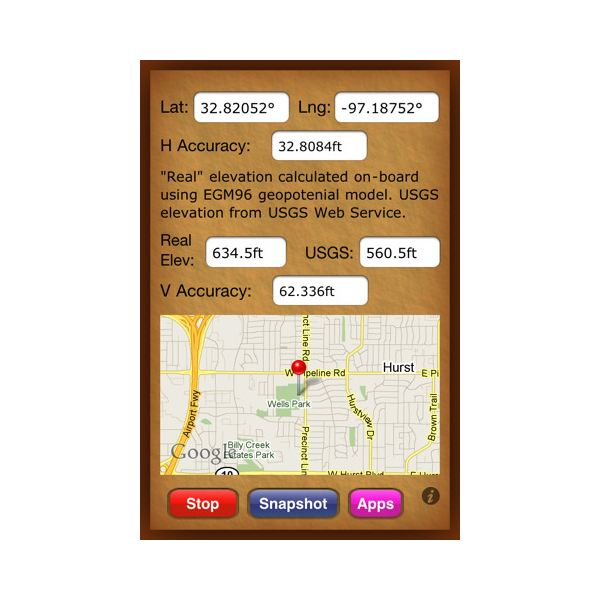 Five Best IPhone Apps For Elevation - What is my current elevation from sea level